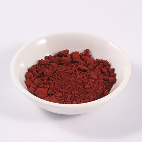 Red Iron Oxide Coloured Earth Pigments